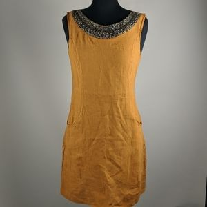 New w/ tag, Lina Tomei Linen Dress Size Small